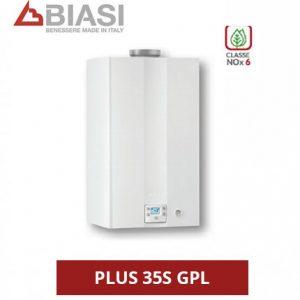 BIASI – CALDAIA A CONDENSAZIONE RINNOVA COND PLUS 35S GPL